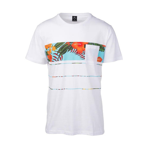 SQUAD BLOCK TEE WHITE