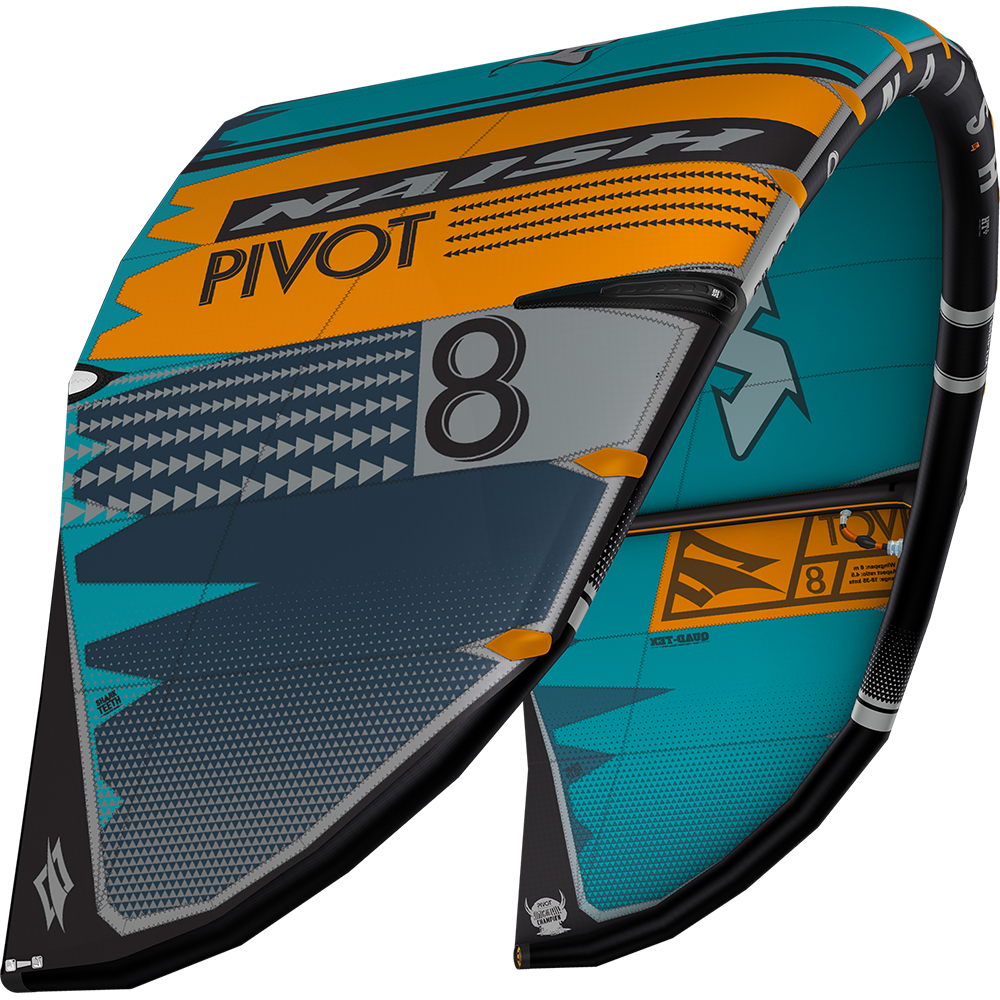 PIVOT 12 TEAL/ORANGE/GREY