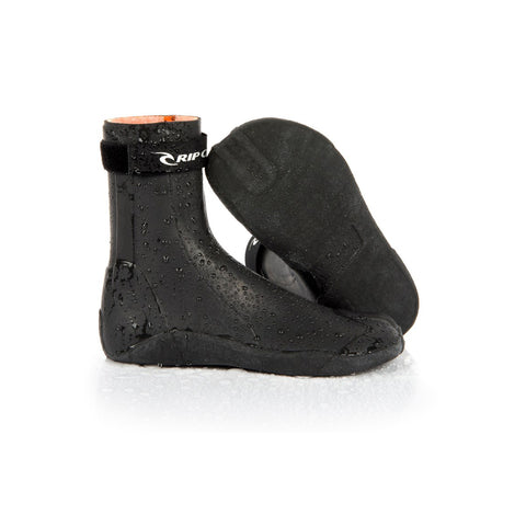 RUBBER SOUL PLUS SPLIT TOE 3MM BLACK