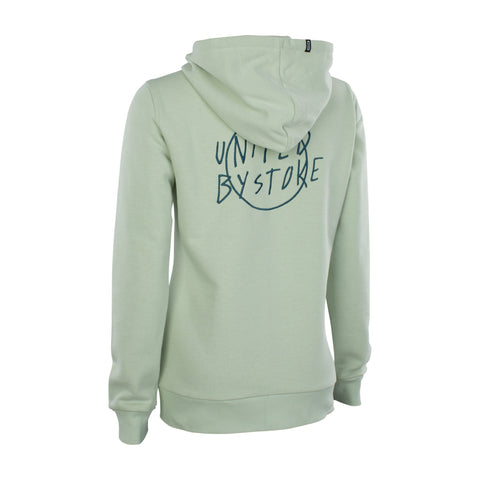 ZIP HOODY KEEPERS OF STOKE WMS SHALLOW GREEN