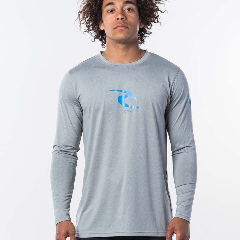 ICON RELAXED LS UV GREY