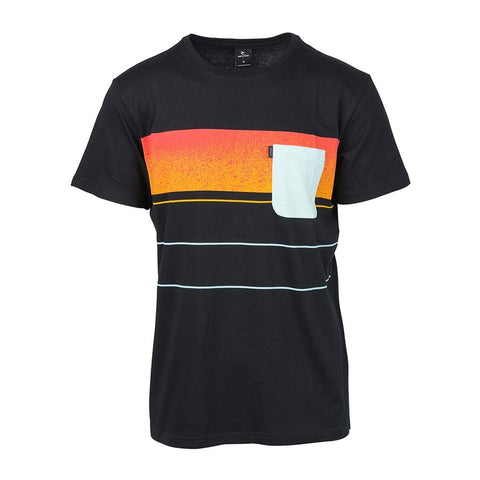 SQUAD BLOCK TEE BLACK