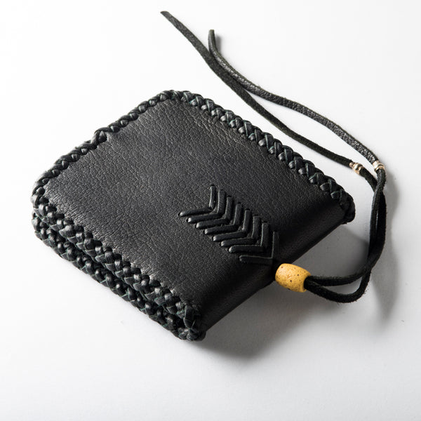 Folding Braided Wallet