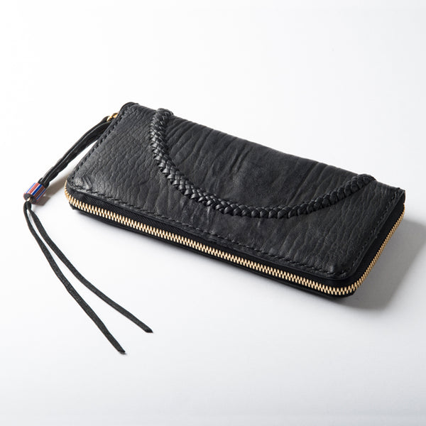 Zipper Wallet Long