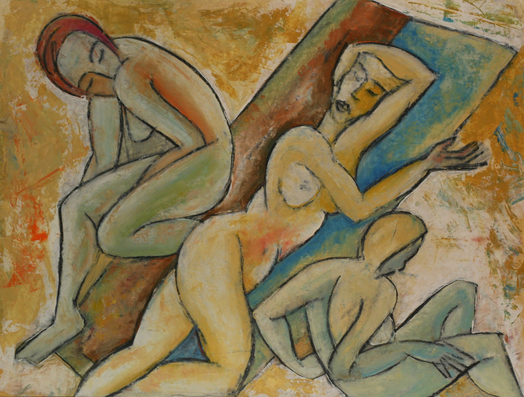 Charles Sambono - Nudes at Play