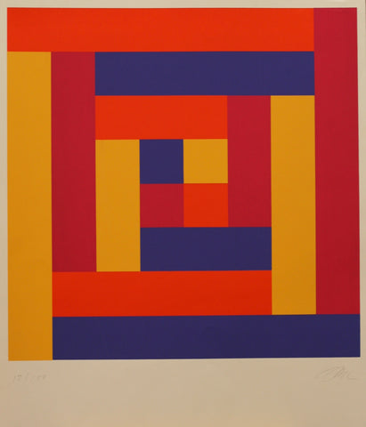 Richard Paul Lohse, Farbserigraphie