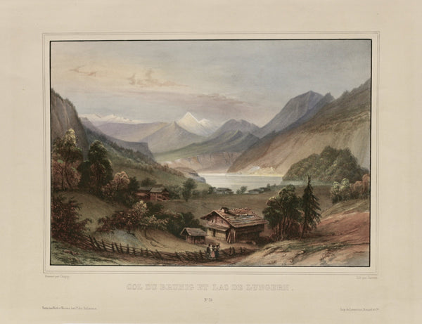 Obwalden Lithographie