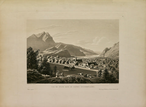 Nidwalden Aquatinta