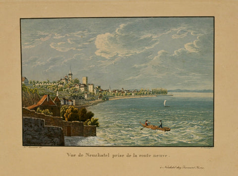 Neuchatel Aquatinta