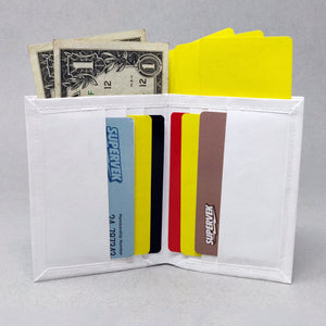 Halftone Matter SuperSlim Tyvek Paper Wallet right