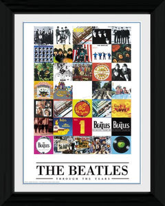 Beatles (The) - Through The Years (Stampa In Cornice 30x40cm) - Wigashop