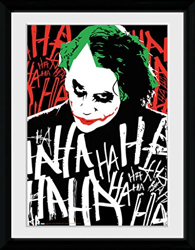 Batman The Dark Knight - Joker Ha (Stampa In Cornice 30x40cm) - Wigashop