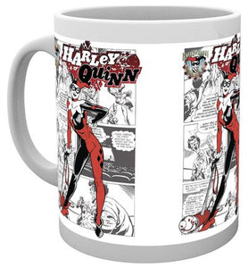 Batman Comics - Harley Quinn Comic (Tazza) - Wigashop