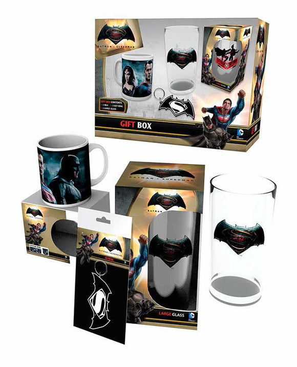 Batman V Superman - Gift Box (Set Regalo) - Wigashop