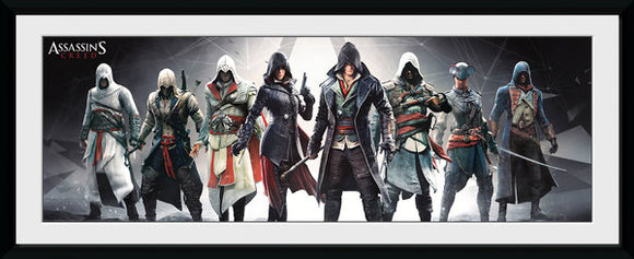 Assassin's Creed - Characters (Stampa In Cornice 30x75cm), GB Eye, Wigashop