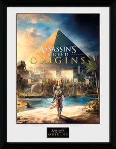 Assassin's Creed Origins - Cover (Stampa In Cornice 30x40 Cm), GB Eye, Wigashop