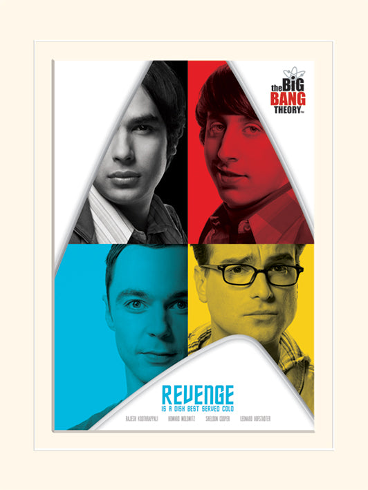 Big Bang Theory (The) - Revenge (Stampa 30X40 Cm), Pyramid, Wigashop