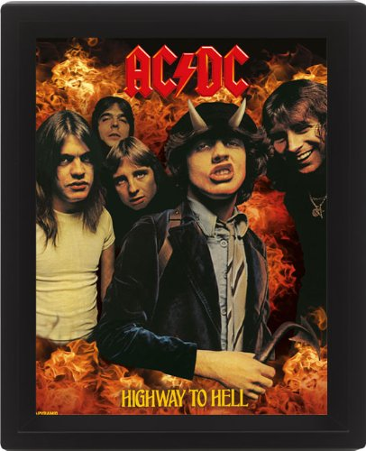 Ac/Dc  - Highway To Hell (Poster Lenticolare 3D), Pyramid, Wigashop