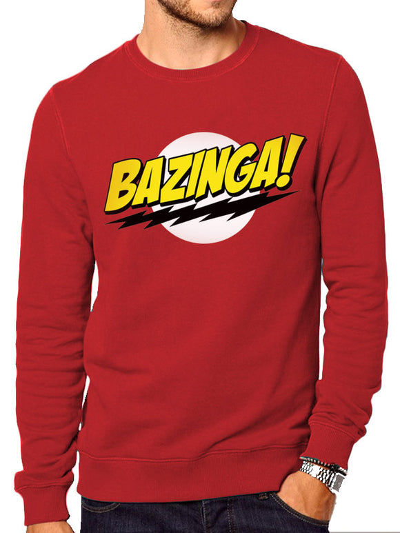 Big Bang Theory - Bazinga (Felpa Unisex Tg. Xl), CID, Wigashop