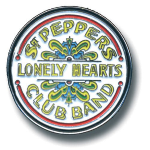 Beatles (The) - Medium Sgt Pepper Drum (Spilla Badge), Rock Off, Wigashop