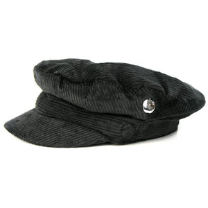 Beatles (The) - Help! Black Cord With Badge Hdn (Cappello Tg. L) - Wigashop