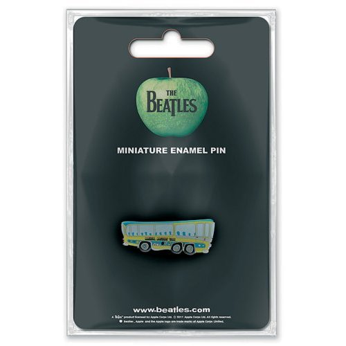 Beatles (The) - Magical Mystery Tour Bus (Mini Spilla Badge), Rock Off, Wigashop