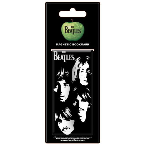 Beatles (The) - Illustrated Faces (Segnalibro Magnetico) - Wigashop