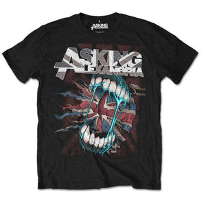 Asking Alexandria - Flag Eater (T-Shirt Unisex Tg. XL) - Wigashop