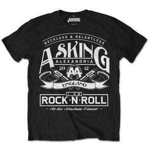 Asking Alexandria - Rock N' Roll (T-Shirt Unisex Tg. L) - Wigashop
