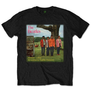 Beatles (The) - Strawberry Fields Forever (T-Shirt Unisex Tg. 3XL), Rock Off, Wigashop