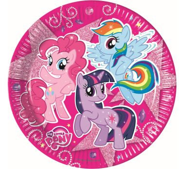 My Little Pony - Sparkle - 8 Piatti 23 Cm, Giocoplast, Wigashop