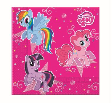 My Little Pony - Sparkle - 20 Tovaglioli Di Carta, Giocoplast, Wigashop