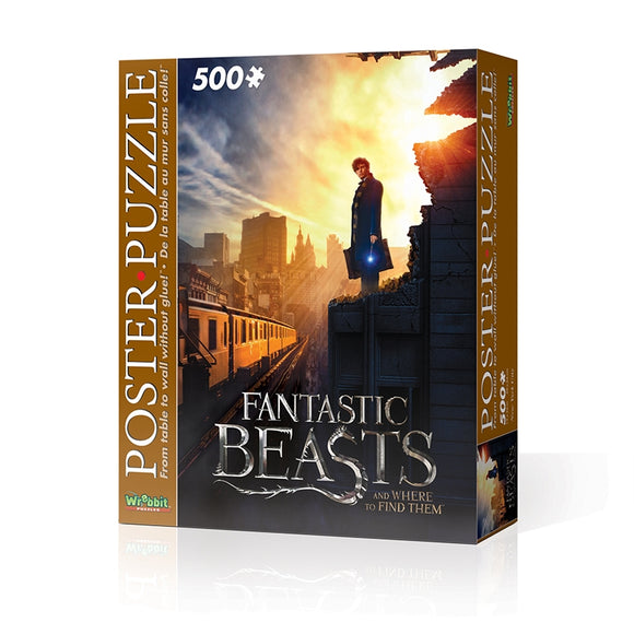 Wrebbit Wpp-5006 - Harry Potter - Fantastic Beasts Ny City (Poster Puzzle 500 Pz) - Wigashop
