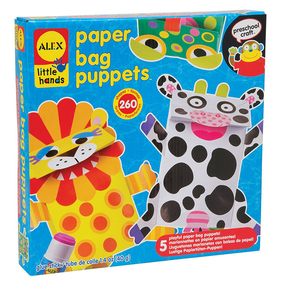 Alex Prescolare - Paper Bag Puppets, Alex Brands, Wigashop
