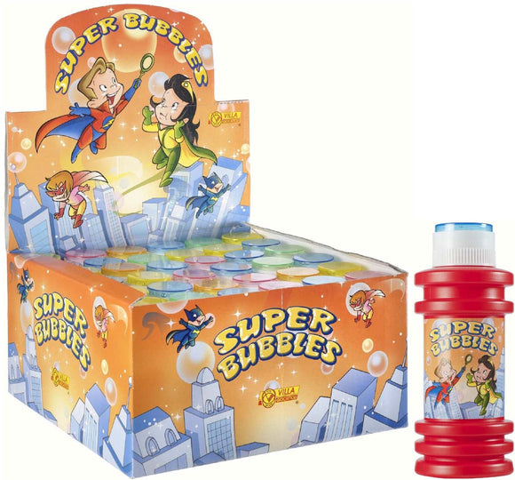 Display 16 Pz - Bolle Giganti - Super Bubbles Flacone 175 Ml, Villa Giocattoli, Wigashop