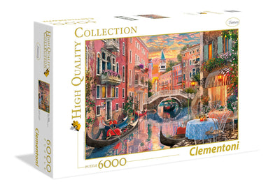 Puzzle 6000 Pz - High Quality Collection - Venice Evening Sunset, Clementoni, Wigashop
