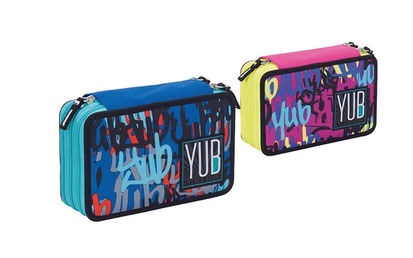 Yub - Graffiti - Astuccio.3 Zip (Assortito), Yub, Wigashop