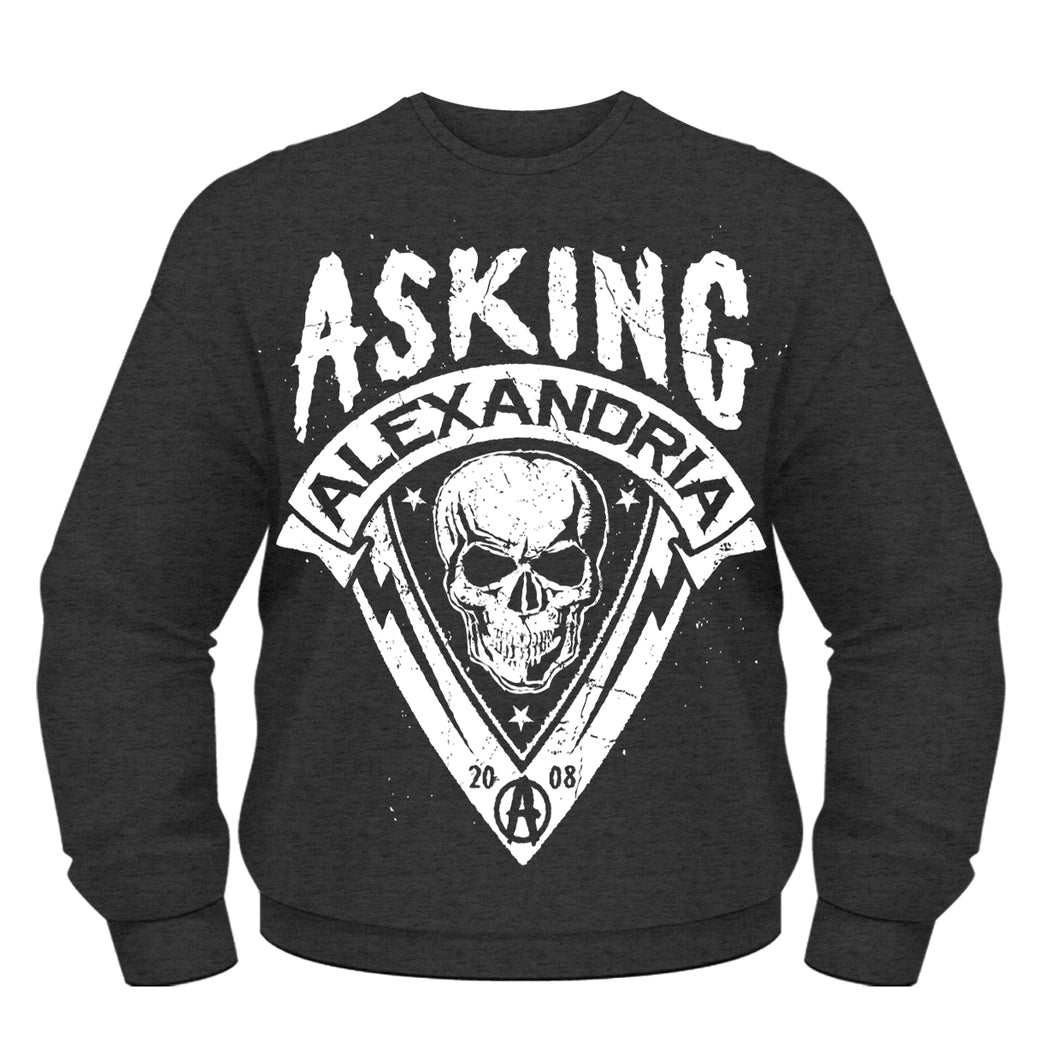 Asking Alexandria - Skull Shield (Felpa Unisex Tg. S) - Wigashop