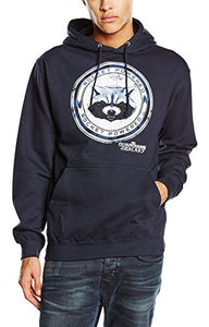 Guardians Of The Galaxy - Rocket Powered (Felpa Con Cappuccio Unisex Tg. S), PHM, Wigashop