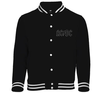 Ac/Dc - Back In Black (Giacca College Tg. L) - Wigashop