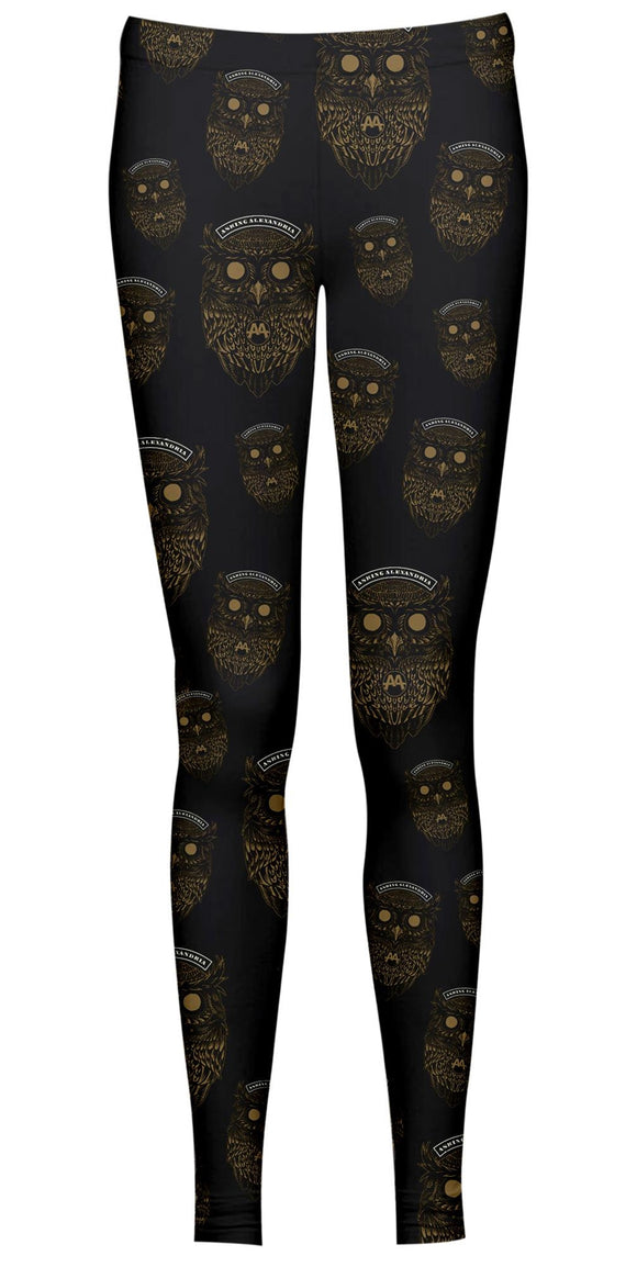 Asking Alexandria - Owls (Leggings Tg. S) - Wigashop