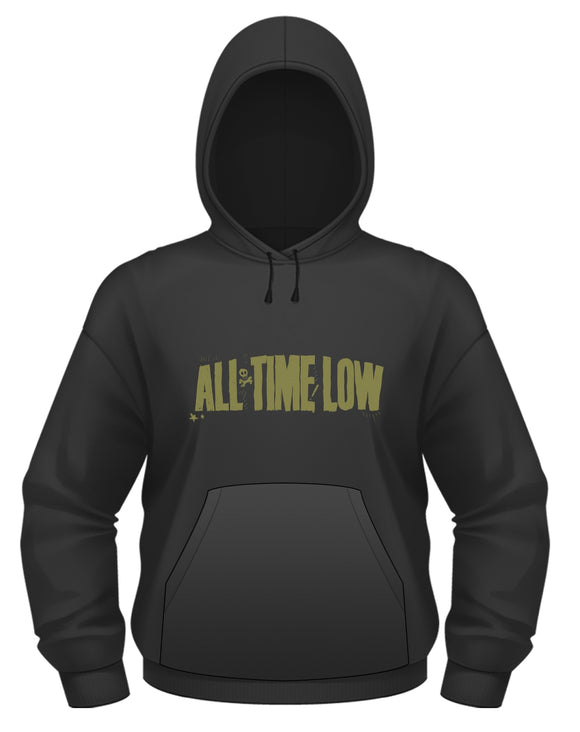 All Time Low - Holds It Down (Felpa Cappuccio Unisex Tg. M) - Wigashop