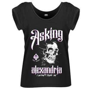Asking Alexandria - I Won't Give In (T-Shirt Donna Tg. L) - Wigashop