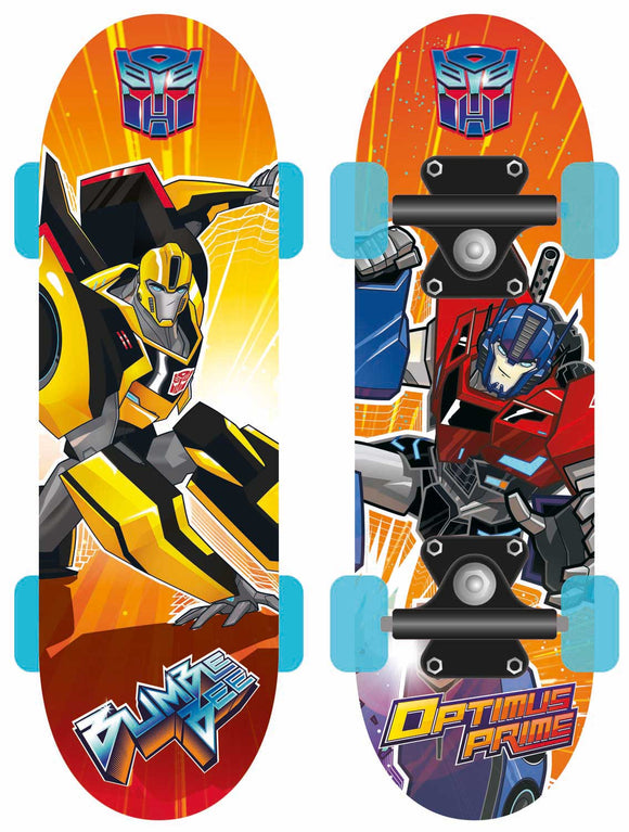 Transformers - Skateboard In Legno 43X12X8 Cm, Joy Toy, Wigashop