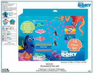 Alla Ricerca Di Dory - Set Accessori 18 Pz, Joy Toy, Wigashop
