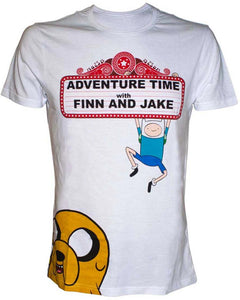 Adventure Time - Finn And Jake (T-Shirt Unisex Tg. M) - Wigashop