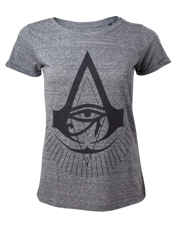 Assassin'S Creed - Logo Black Grey (T-Shirt Unisex Tg. L), Bioworld, Wigashop