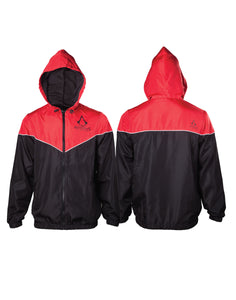 Assassin's Creed - Red/Black (Giacca A Vento Tg. XL), Bioworld, Wigashop