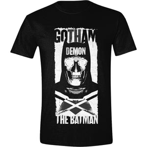 Batman V Superman - Gotham Demon Poster Black (T-Shirt Unisex Tg. L) - Wigashop