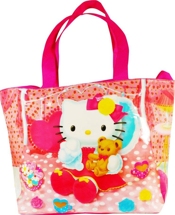 BORSA DA SPIAGGIA MARE HELLO KITTY - Wigashop